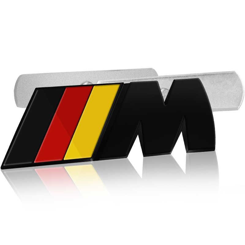 1 Pcs Mobil Styling Mobil Emblem Depan Grille Lencana Grill Stiker Pelabelan untuk BMW E46 E90 E60 BMW F30 E36 f10 F20 E87 E92 E30 E91