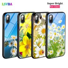 Black Silicone Case Sunflower Flower for iPhone X XR XS Max for iPhone 8 7 6 6S Plus 5S 5 SE Super Bright Glossy Phone Case black cover japanese samurai for iphone x xr xs max for iphone 8 7 6 6s plus 5s 5 se super bright glossy phone case