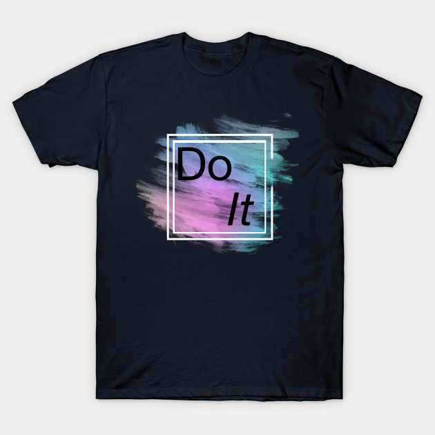 T-shirt da uomo t shert DO IT tshirt Donna T shirt