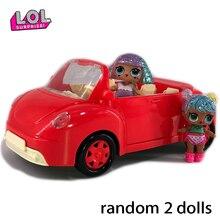 Куклы LOL surprise, оригинальные куклы LoL, самолет, трансформер, автомобиль, игрушки для пикника, экшн-модель, lols figura, подарки на день рождения для девочки