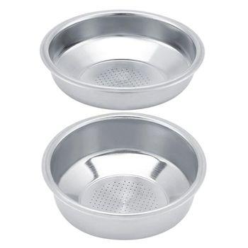 15 20MM filtr do kawy ze stali nierdzewnej kosz bez ciśnienia filtr z siatki Espresso Cafe filtr do kawy narzędzia akcesoria Cafetiere tanie i dobre opinie HNGCHOIGE CN (pochodzenie) Bowl Stainless Steel Instrukcja other Silver