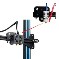 Acessório da impressora 3d 0.4mm todo o metal hotend kit para creality Cr 10/Cr 10S/Cr 10/Cr 10 mini/Cr 20/Cr 20 pro ender 2 3 5 impressão|Peças e acessórios em 3D| |  -