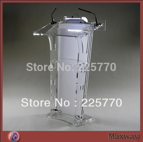 Clean Acrylic Podium Perspex Church Lectern Church Lucite Acrylic Podium Church Lectern