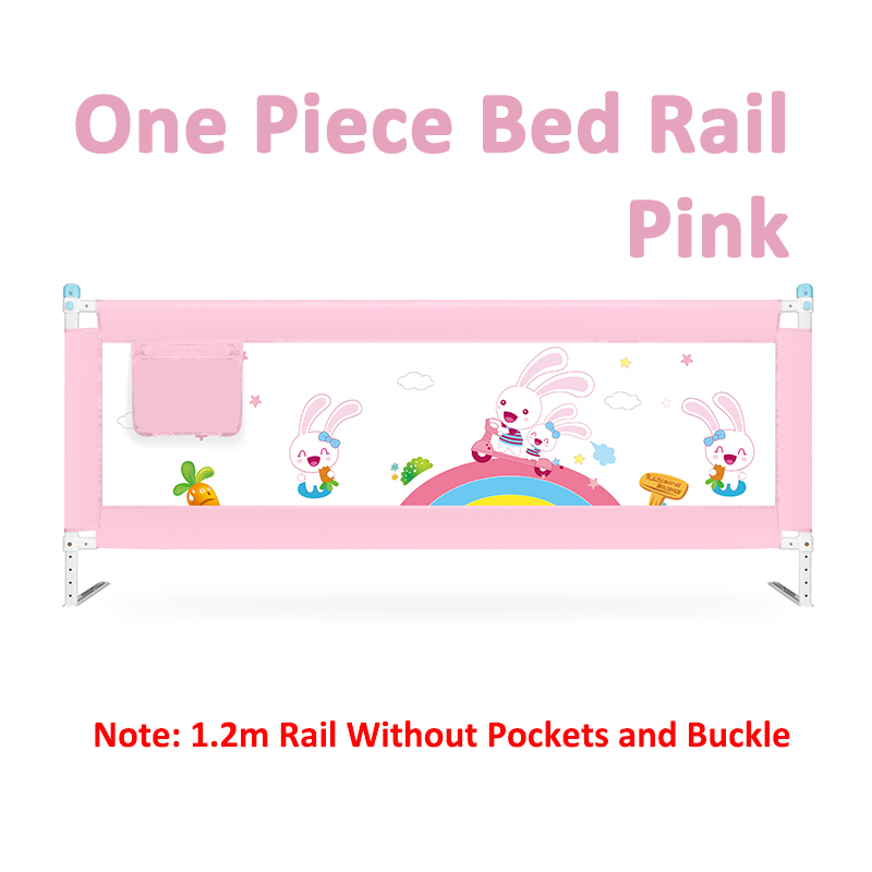 63 to 83 cm Height Adjustable Kid Bed Guard with Foldable Railing Sleep for Baby Safety from Falling from Bed 16