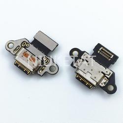 1 шт потребительских упаковок для микро USB с портом Jack для разъема данных зарядки хвост разъем гибкий кабель для Motorola Moto X4 X 4th XT1900 Mini USB