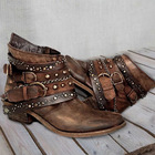 Women ankle boots lo...