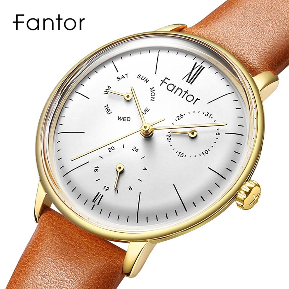 Fantor 2019 Luxury Brand Elegant Ladies Women Dress Watch Leather Quartz Wrist Watch Fashion Lady Bracelet Watches for Women
