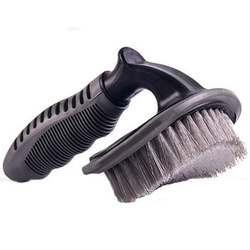 Car Tyre Cleaning Brush T-Type Multi-Functional Wheel Hub Brush Car Washing Tool Car Wheel Brush Car Accessories