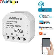 Wifi Intelligente Dimmer Interruttore Interruttore Fai Da Te Modulo di 220-240V Tuya APP/Vita Intelligente, funziona con Alexa Eco Google Casa Per La Luce HA CONDOTTO LA Lampada