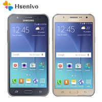 Samsung Galaxy J7 100% teléfono móvil desbloqueado Original 5,5 pulgadas octa-core 13.0MP 1,5 GB RAM 16GB ROM 4G LTE teléfono móvil reacondicionado