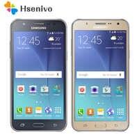 Samsung Galaxy J7 100% téléphone portable débloqué d'origine 5.5 pouces octa-core 13.0MP 1.5GB RAM 16GB ROM 4G LTE téléphone portable remis à neuf