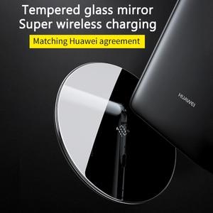 Image 3 - Baseus специальный дизайн 10 Вт Qi Беспроводное зарядное устройство для P30 P30 Pro быстрая Беспроводная зарядка Pad для Mate 20 Pro Samsung S10 S9 S8