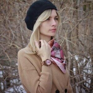 Image 5 - BOBO VOGEL Top Luxus Marke Uhr Frauen relogio feminino Datum Display Armbanduhren Zeitmesser Uhr Stop Funktionale saat