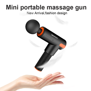 USB Mini Low Noise Profession Massage Gun Body Muscle Deep Fascia Massager Muscle Pain Exercising Relaxation Slimming Shaping