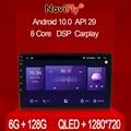 NaviFly 7862 6 ГБ + 128 Гб QLED 1280*720 Android 10,0 Универсальная автомобильная Стерео GPS карта для Volkswagen Nissan Hyundai Kia toyota Honda