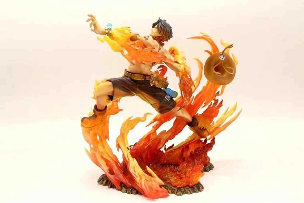 Marco The Phoenix Version ONE PIECE efectos energía figura de acción 18 cm