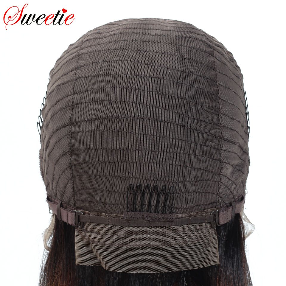 Image 3 - Sweetie  Short Bob Lace Front Wigs 1b/30 Color Ombre Lace Front Human Hair Wigs For Women Remy Peruvian Straight Human Hair Wigs-in Human Hair Lace Wigs from Hair Extensions & Wigs