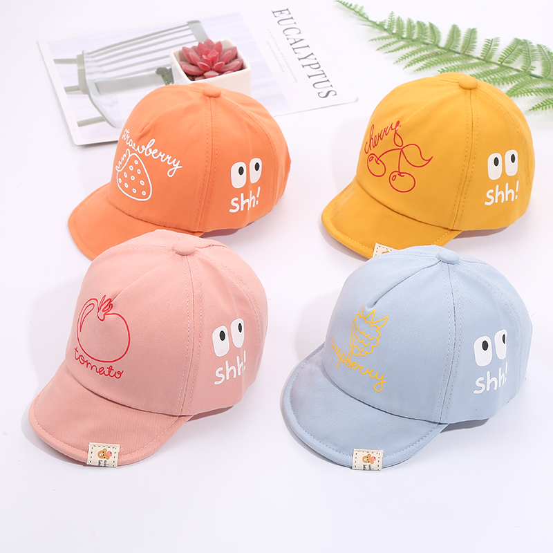 Ha75fd1a57ed748aca5f6def520cf1429o - Baby Hat Cute Bear Embroidered Kids Girl Boy Caps Cotton Adjustable Newborn Baseball Cap Infant Toddler Beach Outdoor Sun Hat