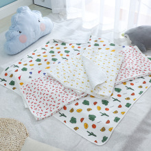 110*110cm Pure Cotton Bath Towel Newborn Baby Swaddle Blanket Coating Plain Gauze Baby Bag Towel Cart Cover Blanket