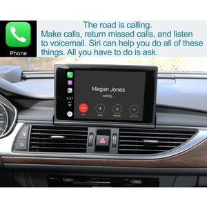 Image 5 - واجهة Apple CarPlay اللاسلكية لأودي A6 ، A7 ، 2012 2018 ، مع وظيفة HDMI ، رابط المرآة ، AirPlay ، Android ، للسيارة
