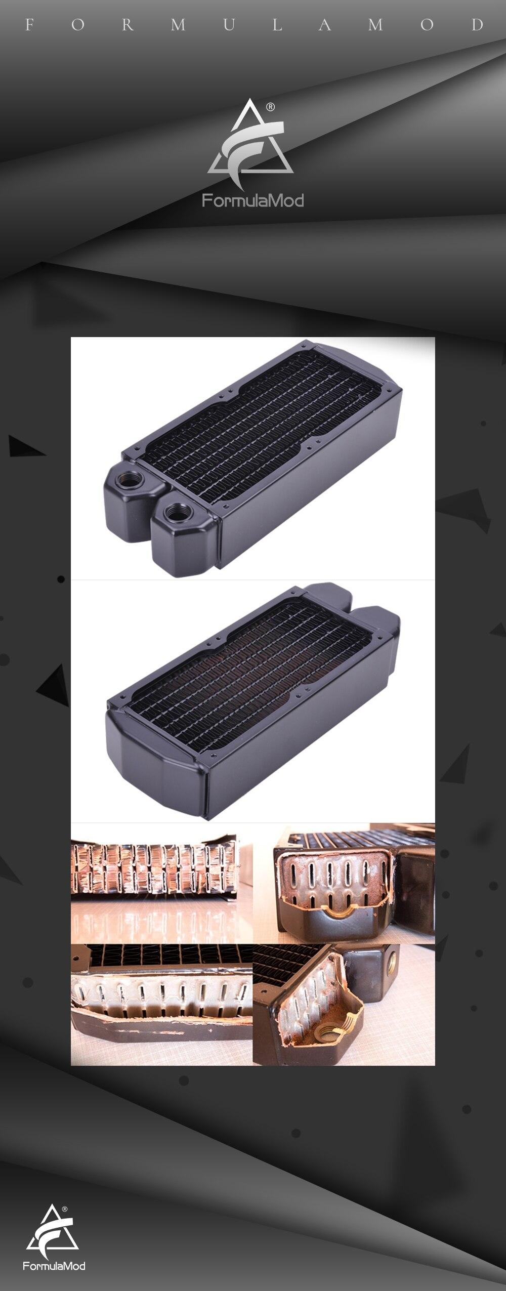 Cold row full copper radiator Alphacool NexXxoS XT45 2 * 80mm/160mm