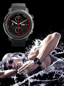Amazfit Music Smartwatch Swimming Full-Moon-Screen 19-Sport-Modes Stratos 3 5ATM Onboard