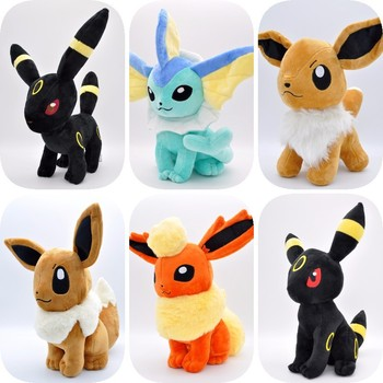 Pokemon TAKARA TOMY Pet Elf, Pokemon, Plush Doll, Large Size, Sitting on Primitive IBEB 1