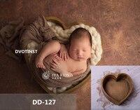 Dvotinst 新生児の写真の小道具木製ラブハート浴槽ポーズフレーム fotografia アクセサリースタジオ撮影写真の小道具
