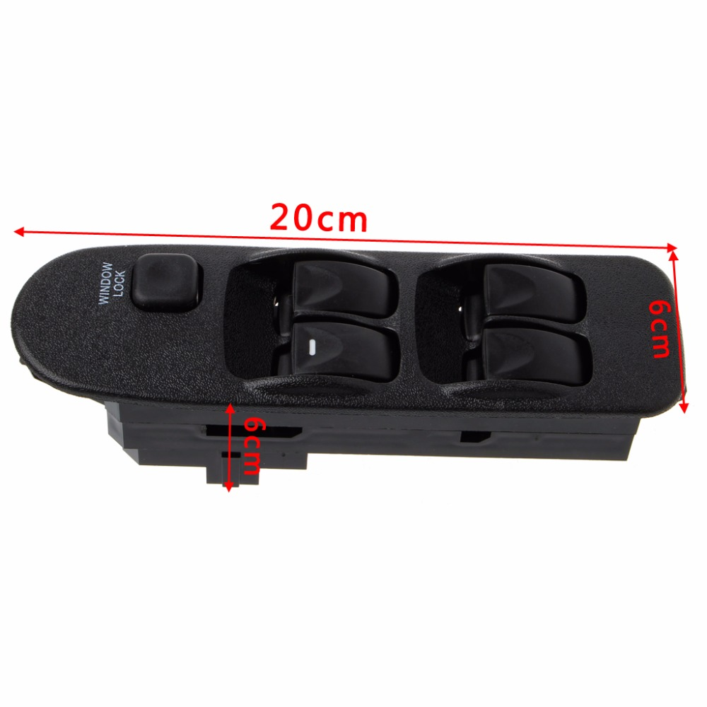 Купить с кэшбэком New MR740599 Electric Window Switch Control For Mitsubishi Carisma Space Star DA