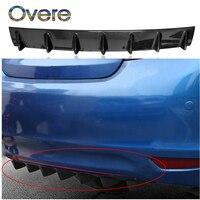 Overe 1PC Auto Hinten Modifizierte Stoßfänger Spoiler Shark Fin Styling Für Renault Megane 3 Duster Captur Chevrolet Cruze Aveo captiva