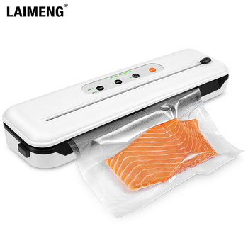 LAIMENG Vacuum Sealer Sous Vide Vacuum Packer with Cutter For Food Storage New Vacuum Packing Machine with Vacuum bags S274