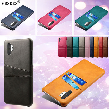 For Samsung Galaxy Note 8 9 10 S10E S10 5G Retro PU Leather Card Slots Wallet Case For Galaxy S8 S9 S10 Plus Note 10 Plus 5G image