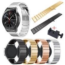 Ремешок из нержавеющей стали для samsung gear s3 galaxy watch