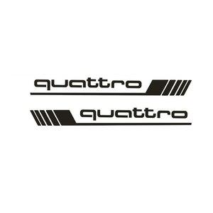 Image 2 - Auto Waren Francais Wasserdicht Aufkleber Geeignet für Quattro Styling Side Tür Abziehbilder Auto Aufkleber SUV 4x4