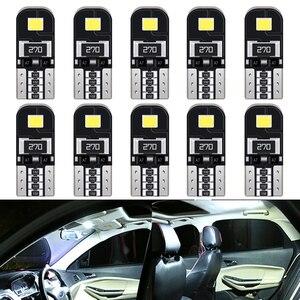 Ampoule d'éclairage intérieure pour Kia   10 pièces W5W T10 Canbus, Ceed Cerato K3 K4 K5 Mazda 3 5 6 GH 6000 CX5 CX3 K