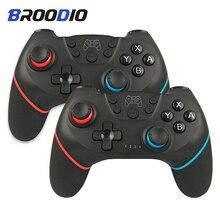 [2020 גרסה משודרגת] Bluetooth אלחוטי בקר עבור Nintendo מתג פרו Gamepad עבור Nintendo מתג קונסולת משחק ג ויסטיק
