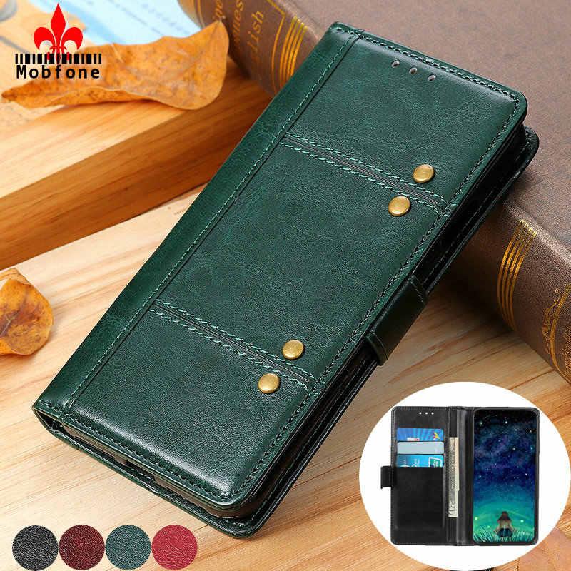 Lujo Funda de cuero para Samsung Galaxy A31 A20 A30 A40 A50 A41 A70 A80 A90 S A51 A71 M21 M31 cartera Flip magnético libro cubierta de la bolsa