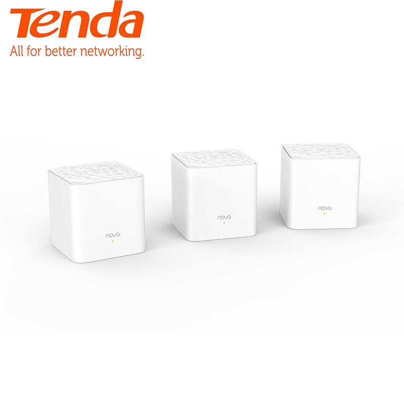 Tenda Nova MW3 Ganze Hause Mesh WiFi Gigabit System mit AC1200 2,4G/5,0 GHz WiFi Wireless Router Einfach set up, APP Remote Verwalten