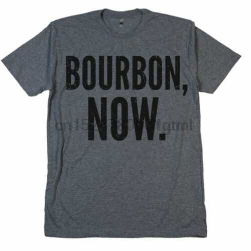 Bourbon Nu T-shirt Whiskey Shots Glazen Kolf Kist Eiken Vat Bier Tee