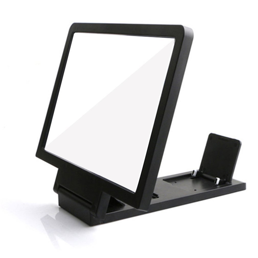 Mini Mobile Phone Magnifying Glass HD New 3D Video Screen Amplifier Stand For Video Folding Screen  Phone Accessories Convenient 2