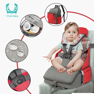 Umaubaby Baby Diaper Bag Multifunction baby Dining Chair Bag safety chair bag For Large Capacity Maternity Nappy Bag Organizer