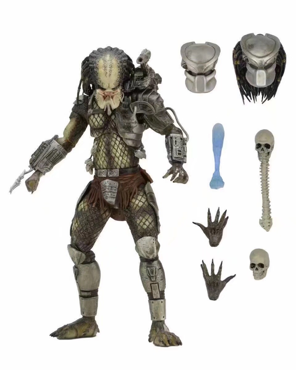 NECA 7-Inch Mobile Predator Classic P1 Jungle Hunter 2.0 Boxed Garage Kit Model