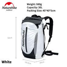 Naturehike Sports Backpack 30L High Capacity 500D Waterproof Storage Bag Outdoor Beach Swimming Boating Rafting Dry Bag Portable