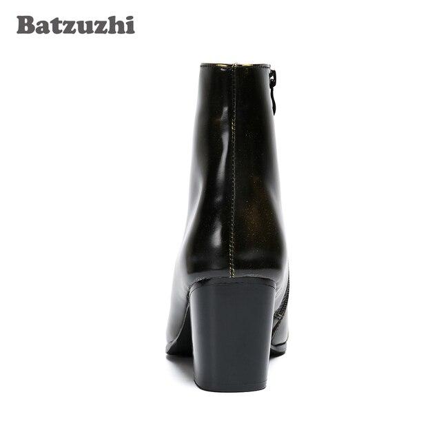 Best Sale #a35981 Batzuzhi 7CM High Increased Men Boots