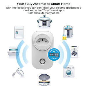 Image 2 - 스마트 플러그 와이파이 소켓 브라질 표준 에너지 모니터 전원 콘센트 멀티 플러그 APP 제어 Alexa Google assistant와 함께 작동