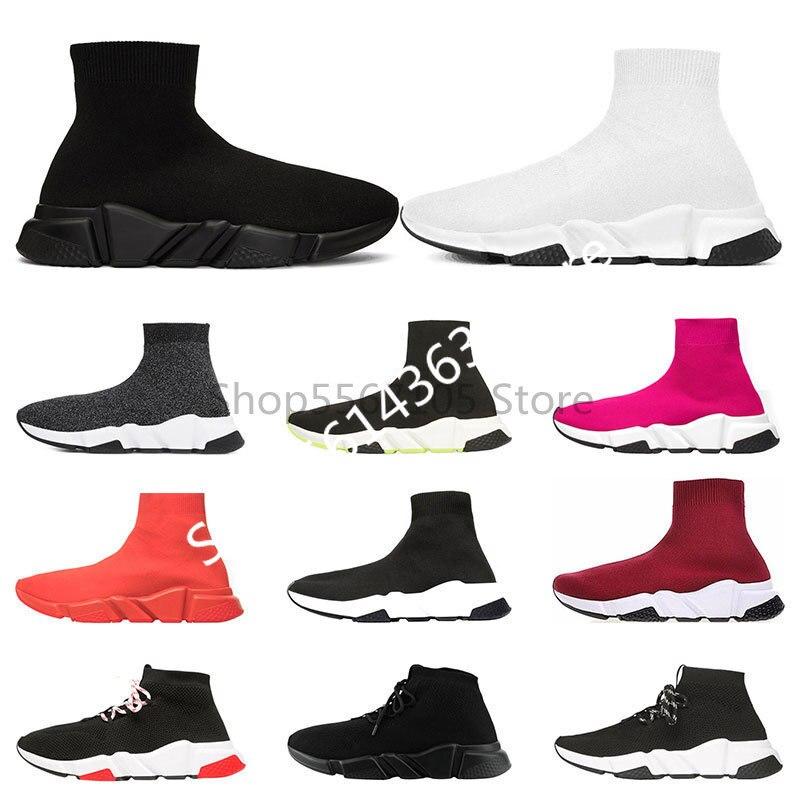2020 Designer Shoes Speed Trainer Platform Casual Of Triple Socks Balenciaca Runing Shoes Fashion Mens Womens Sports Sneakers