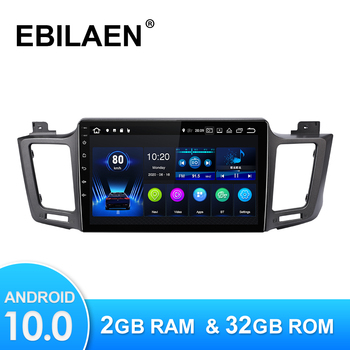 Android 10.0 Car Multimedia Player For Toyota RAV4 RAV 4 2012-2018 Autoradio GPS Navigation Camera WIFI IPS Screen Stereo RDS image