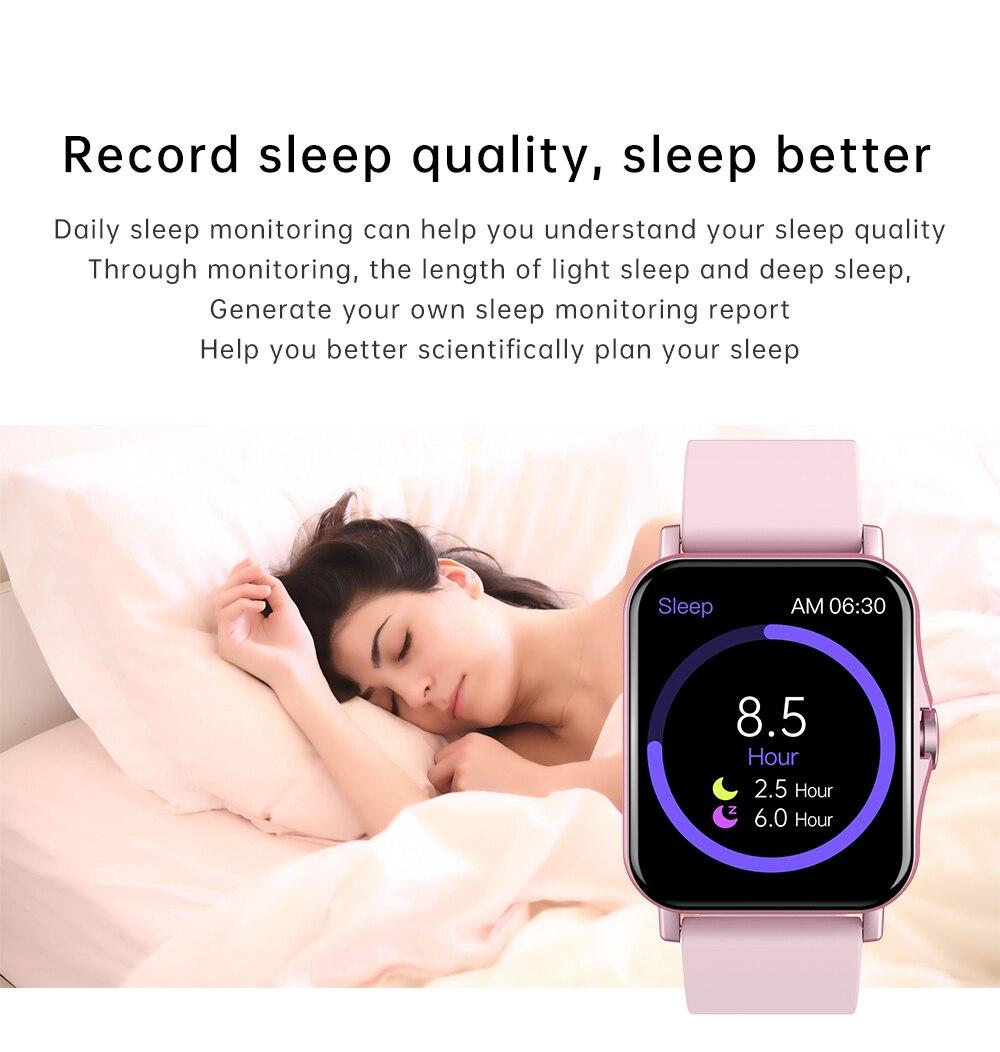 Ha763295b41c04c939b9c926416cd4d61Q Reloj Inteligente Mujer Smartwatch Android Men 2021 Smart Watch Man Bluetooth Call Smartwatch Women For Xiaomi Mi Phone GTS 2