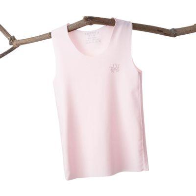 VIDMID Baby boys girls summer sleeveless t-shirt vests tops tees boys beach cotton girls kids Children's traceless vests 7128 01 2