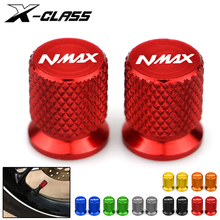 Motorcycle Tire Valve Wheel Tyre Valve Air Port Cover Cap CNC Aluminum Accessories for Yamaha Nmax N-max 125 155 2017 2018 2019